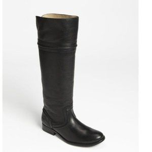 Frye Melissa Trapunto Leather Riding Boot